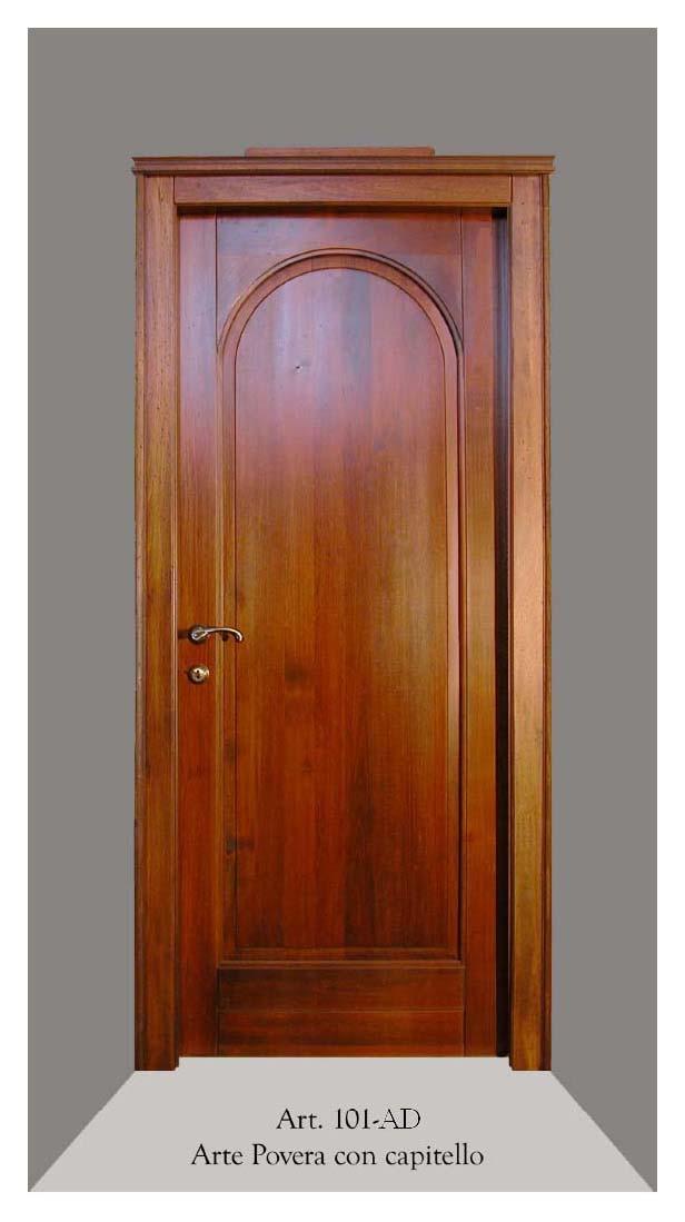 Art 101c porta battente con centina ad arco g tabarini - Porte interne ad arco ...