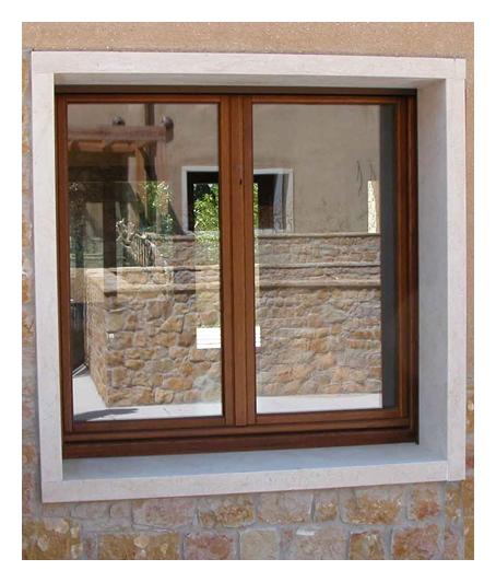F2 finestra a due ante g tabarini for Finestra 4 ante