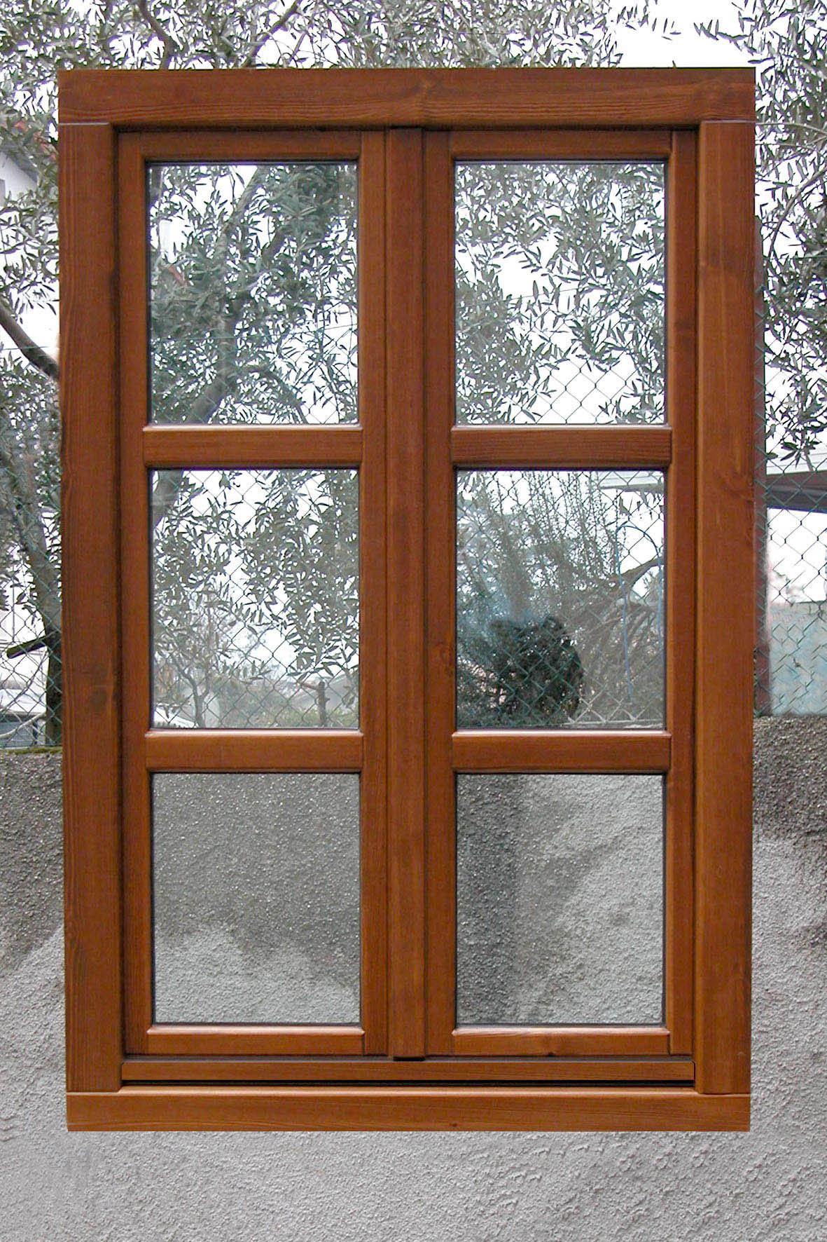 F2 finestra classica a due ante g tabarini - Finestra a due ante ...